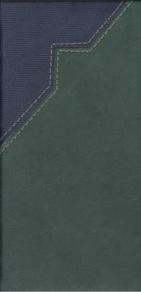 Телефонная книга Арт.Т08-04МД Мадейра Сине-зеленый 80х160