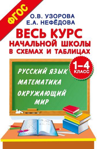 Весь курс начальной школы в схемах и таблицах. 1-4 класс. Русский язык, математика, окружающий мир