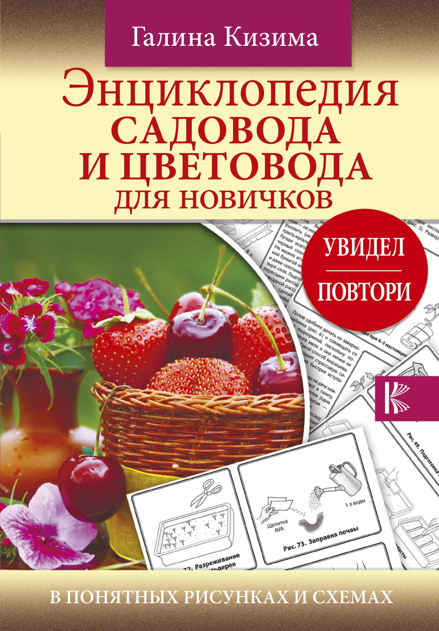 «Энциклопедия садовода и цветовода для новичков в понятных рисунках и схемах. Увидел - повтори»