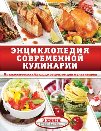 «Энциклопедия современной кулинарии. От классических блюд до рецептов для мультиварки»