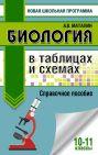 Биология в таблицах и схемах. Справочное пособие. 10-11 кл.