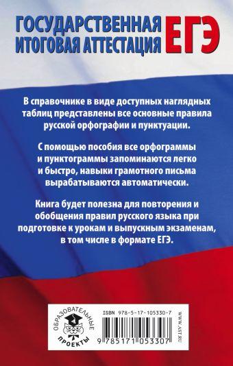 ЕГЭ. Русский язык в таблицах. 10-11 классы