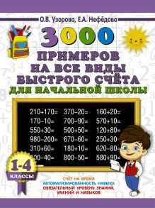 3000 примеров на все виды быстрого счёта в начальной школе. Самая эффективная подготовка в ВПР