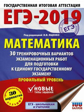 ЕГЭ-2019. Математика (60х84/8) 30 тренировочных вариантов экзаменационных работ для подготовки к единому государственному экзамену. Профильный уровень