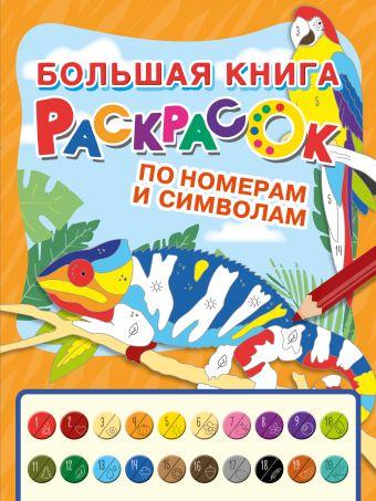 Большая книга раскрасок по номерам и символам