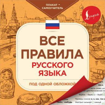 Все правила русского языка под одной обложкой. Плакат-самоучитель