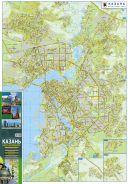 Карта автодорог. Казань. 2020