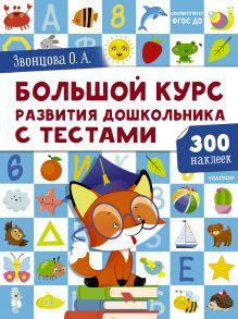 Большой курс развития дошкольника: с тестами и наклейками