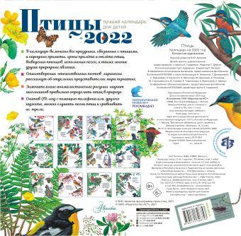 Птицы. Календарь для детей 2022 год