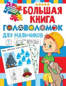 Большая книга головоломок для мальчиков
