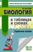 ЕГЭ. Биология в таблицах и схемах для подготовки к ЕГЭ. 10-11 классы [Маталин Андрей Владимирович]