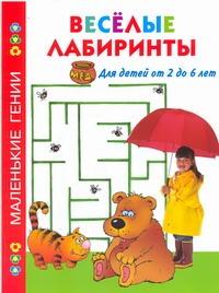 Веселые лабиринты. Для детей от 2 до 6 лет