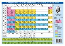 Периодическая система химических элементов Д.И. Менделеева. + Растворимость кислот, оснований и солей в воде