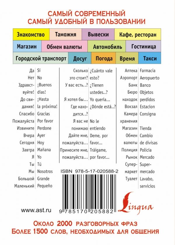 Русско-испанский разговорник знакомство