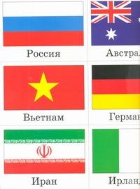 Флаги. Плакат. Разрезной на карточки