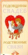 Годовщины свадеб. Родственные связи