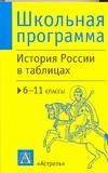 История России в таблицах. 6-11 классы
