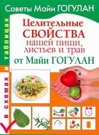 Целительные свойства нашей пищи, листьев и трав от Майи Гогулан