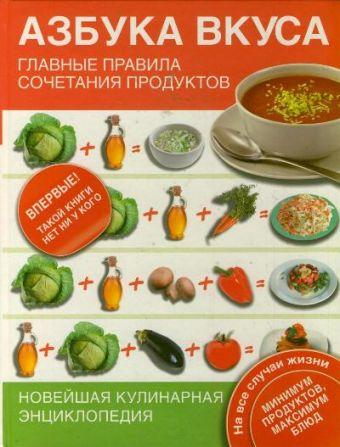 Азбука вкуса. Главные правила сочетания продуктов